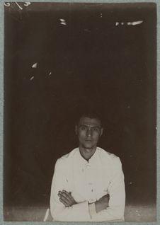 Robert Pourret, chef de poste. Carnot