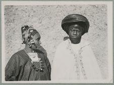 Hombori. Le chef de canton et sa femme