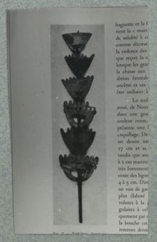 Emblème funéraire. Nouvelle-Géorgie