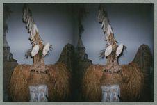 Sans titre [costume et masque de danse ? Musée national des arts d'Afrique et...