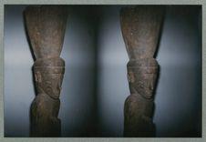 Sans titre [sculpture anthropomorphe. Musée national des arts d'Afrique et...