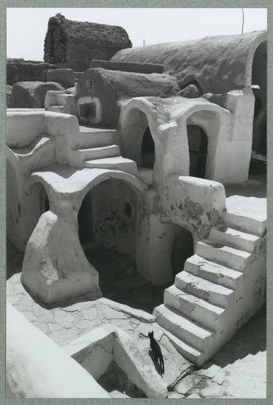 Tunisie. Ghorfa de Médénine