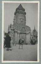 Exposition coloniale. Paris 1931 [temple d'Angkor]