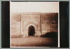 Meknès [porte monumentale d'une ville]