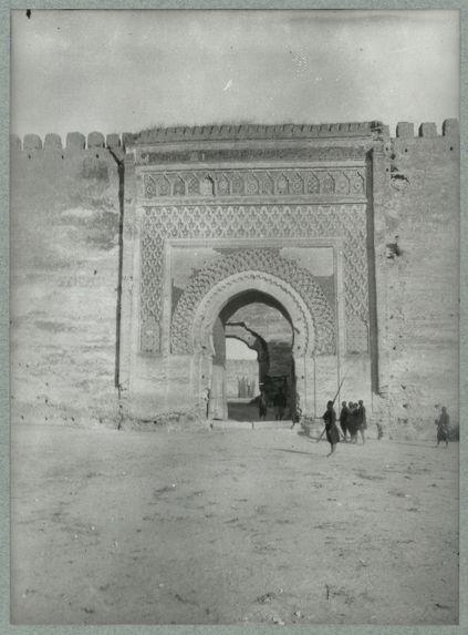 Maroc [porte monumentale]