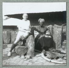 P. HARTER et JINABOH II, 12è Foya de BEKOM. 8 janvier 1980