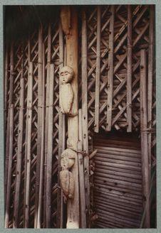 Piedroit de la case des Pkibaï-Samba. 1980