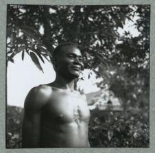 Pointe N'Gadaï, mon boy Sara à Bangui (Centrafrique)