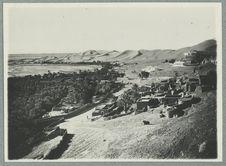 Vallée de la Saoura, la poste et le ksar