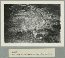 Tipasa. Basilique de Sainte-Sabine et cimetière chrétien