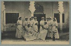 Casablanca.- Infirmières de la Société de Secours aux Blessés