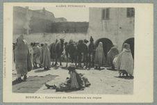 Algérie pittoresque ; Biskra. - Caravane de Chameaux au repos