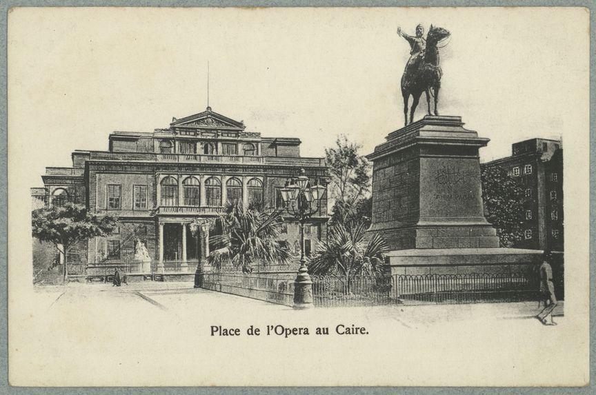 Place de l'Opéra au Caire
