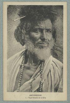 Abyssinie. Type Somalis de la Côte