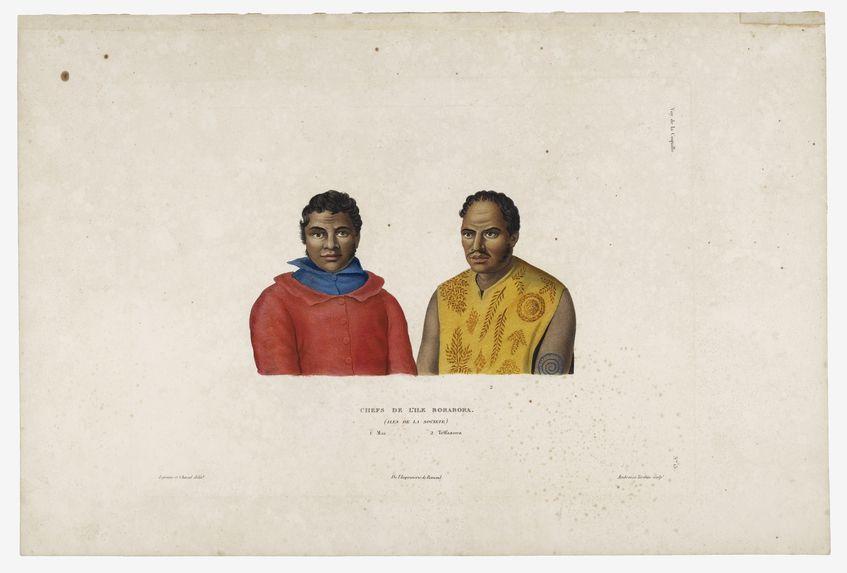 Chefs de l'ïle Bora Bora (îles de la Société)