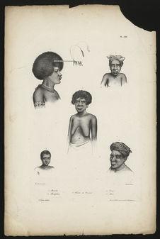 Mambéo. Mangobarac. Femme de Kouaoui. Dorey. Hani
