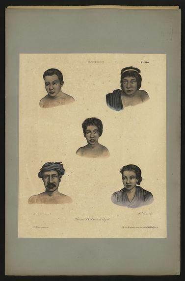 Portraits d'habitants de Cayeli (Bourou)