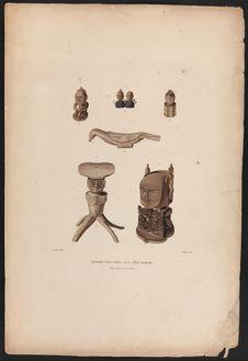 Idoles trouvées sur l'île Rawak