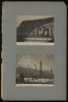 Götzenbilder der Einwohner von Atuai