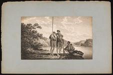 Famille dans la Baye Dusky (Obscure) de la Nouvelle Zélande