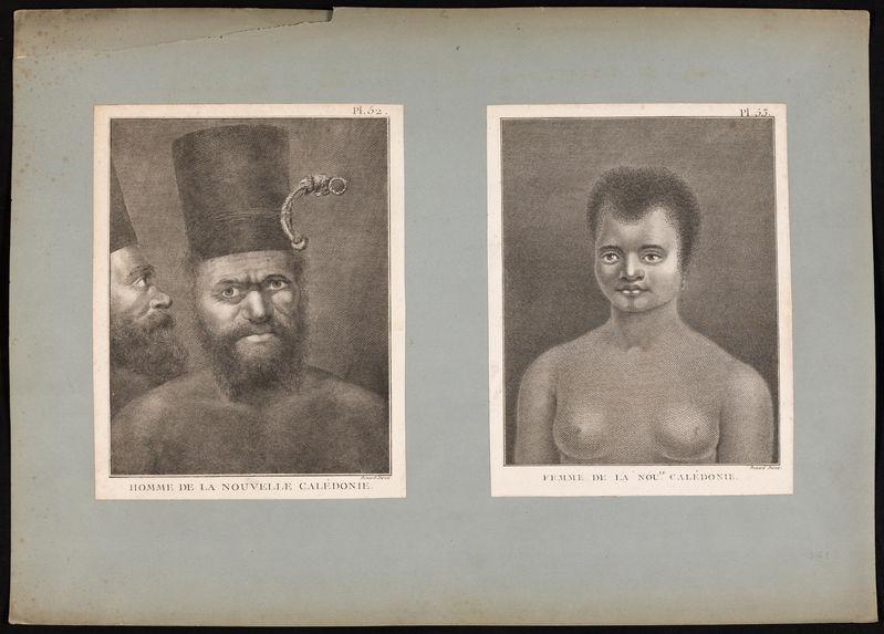 Femme de la Nouvelle Calédonie
