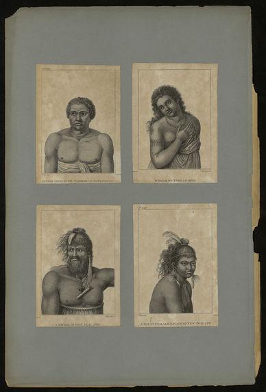 Feenou Chief of the Warriors of Tonga Taboo
