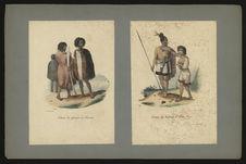 Costume des habitants de Houa-Houa