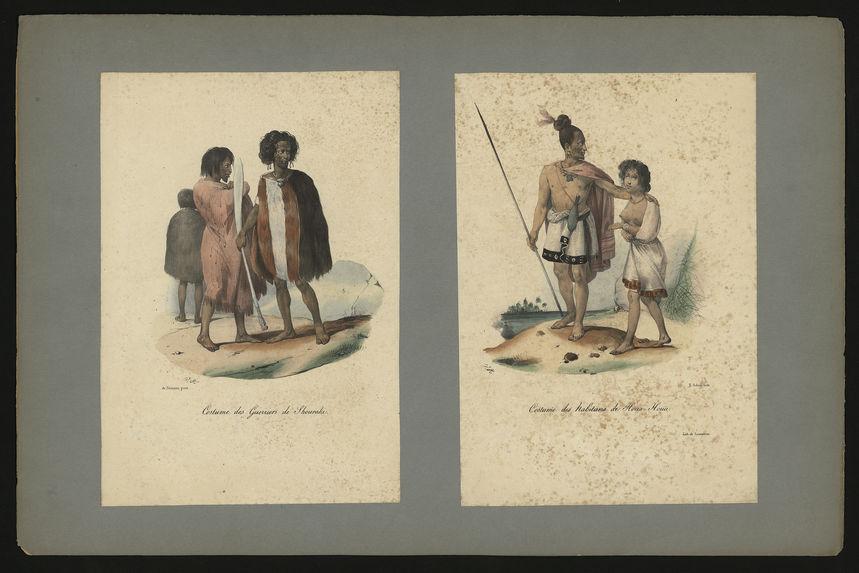 Costume des guerriers de Shouraki.