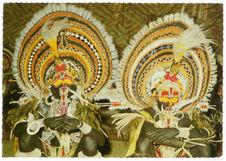 Ceremonial dancers