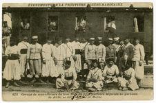 Groupe de sous-officiers du 5ème bataillon du 1er tirailleur algérien