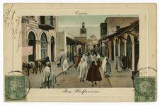 Tunis. Rue Halfaouine.