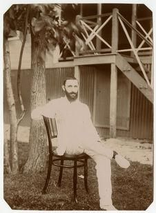 Portrait de Philippe André à Madagasar