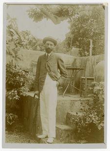 Portrait de Philippe André à Saint-Denis (Réunion)