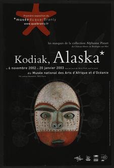 Kodiak, Alaska. Les masques de la collection Alphonse Pinart du Château-Musée de...