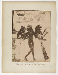Thèbes. Danseuses du tombeau de Nakht, XVIIIe dynastie