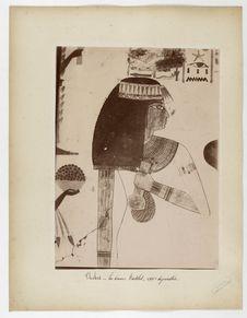 Thèbes. La dame Nakht, XVIIIe dynastie