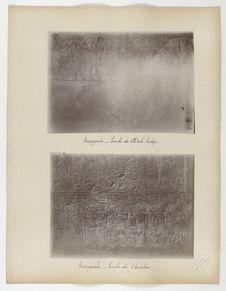 Saqqarah. Tombe de Lhesha [?]