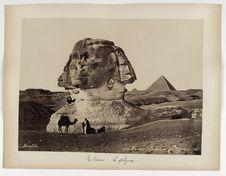 111. Caire, Sphinx et Pyramide