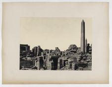 528. Karnak. Big obelisque at the Amon temple