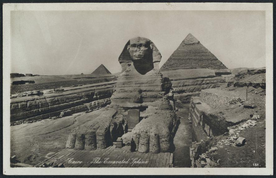 The excavated sphinx