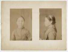 Jeune fille Kalmouk d'Astrakhan
