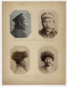 Noble Kalmouk d'Alexandrovsk (près d'Astrakhan). Kalmouk d'Astrakhan (prêtre ?)