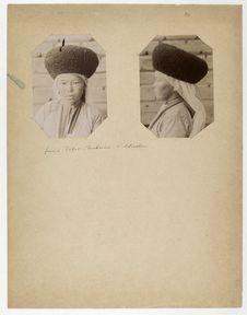 Femme Tatar-Turkmène d'Astrakhan