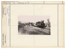 Première locomotive à Yaoundé 9/3/1927
