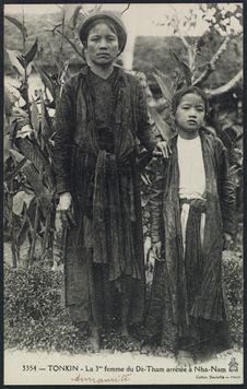 La 3ème femme du Dé-Tham arrêtée à Nha-Nam