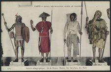 Galerie ethnographique : île de Bornéo, Malais, îles Carolines, île Tahiti.
