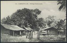Libreville, village gabonnais