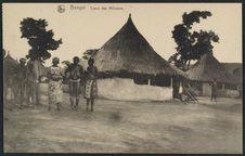 Bangui, cases des miliciens