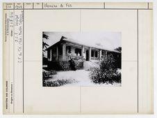 C.F. du T.N. Thiès : pavillon Vedrenne, trois logements