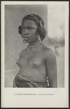 Jeune fille Maouri